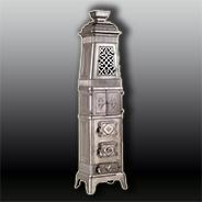 Антикварная чугунная  печь АЧ9