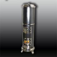 Антикварная чугунная отопительная печь АЧ35