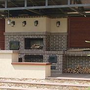 Барбекю комплекс с хлебопечкой