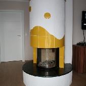 Изразцовый камин ИК32