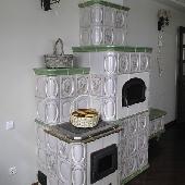 Кафельная варочная печь ВП9