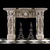 Антикварный камин АМК26
