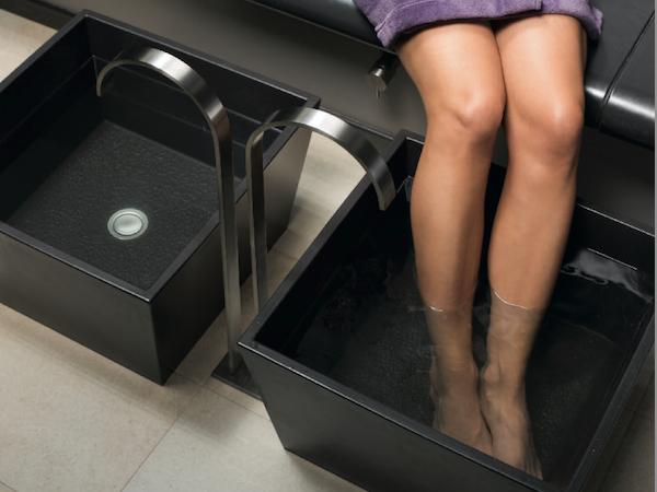 Керамическая ванна для ног В2