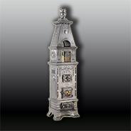 Антикварная чугунная отопительная печь АЧ23