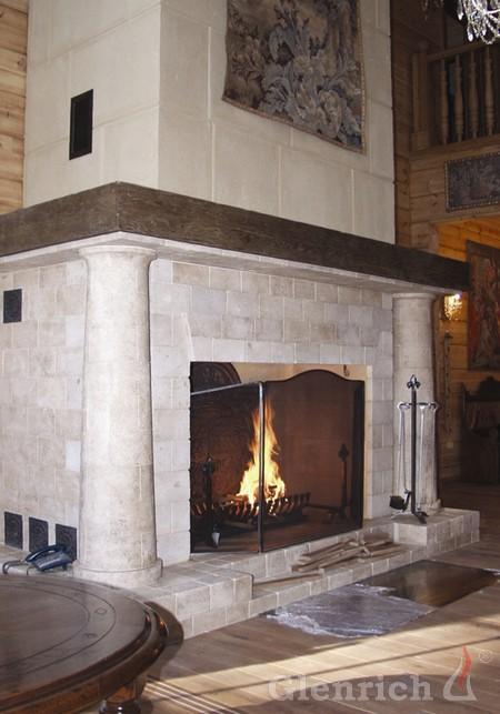 Замковый камин ДК1
