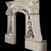 Антикварный камин АМК22