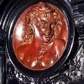 Антикварный камин АМК29