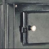 Антикварная чугунная отопительная печь АЧ6