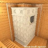 Банная печь БП12