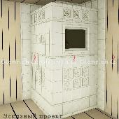 Банная печь БП23