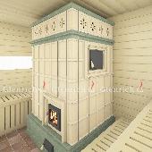 Банная печь БП6