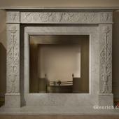 Мраморный камин МК18