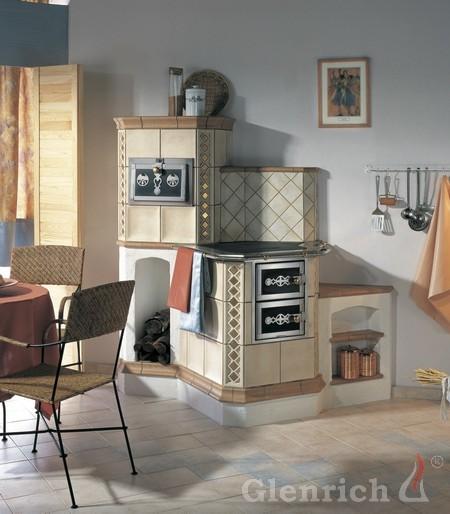 Кафельная варочная печь ВП5