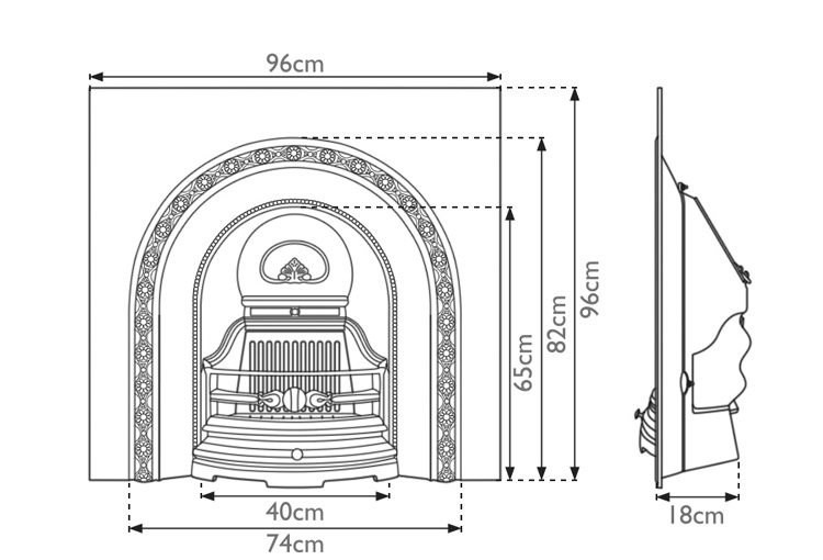 ce-lux-cast-iron-fireplace-insert-technical