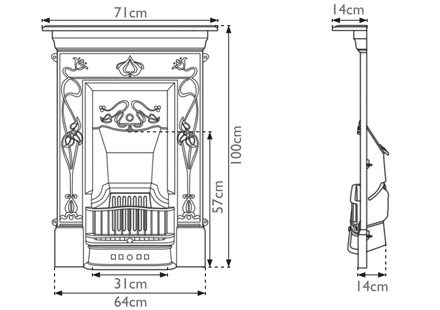 crocus-cast-iron-combination-fireplace-technical