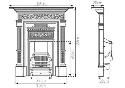 hamden-cast-iron-combination-fireplace-technical