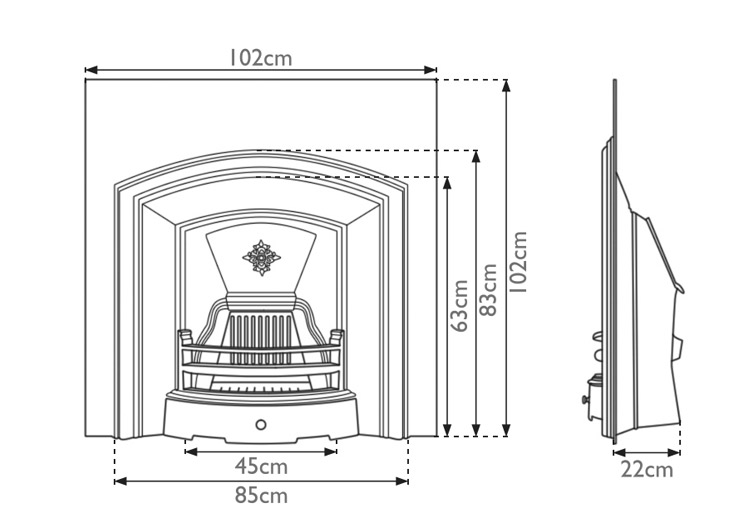 london-plate-cast-iron-fireplace-insert-technical