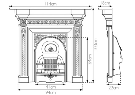 melrose-cast-iron-combination-fireplace-technical