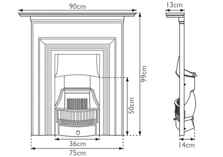 oxford-cast-iron-combination-fireplace-technical