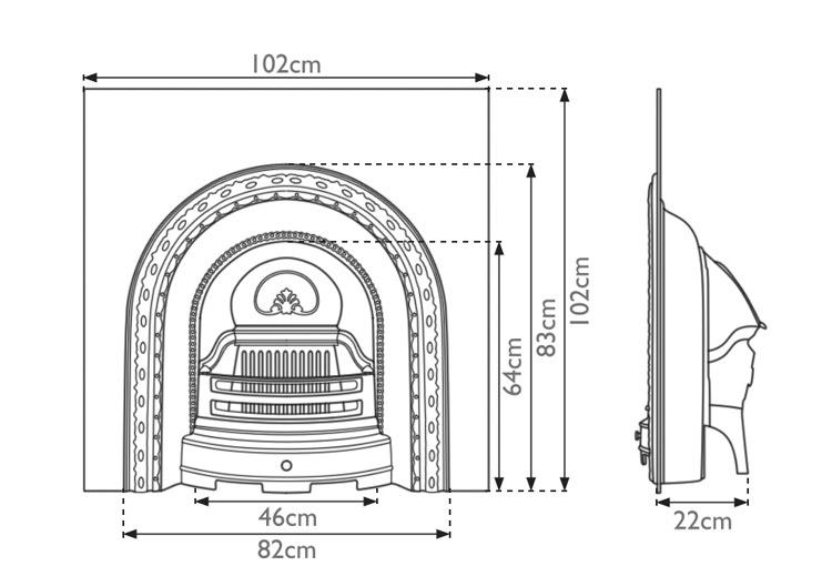 scotia-cast-iron-fireplace-insert-technical
