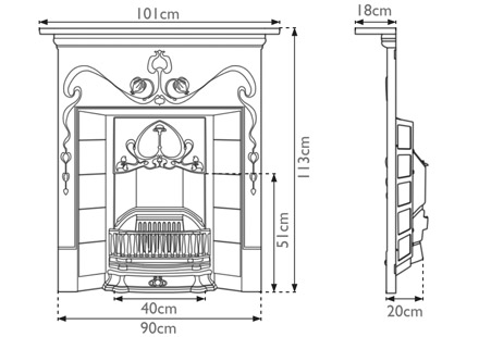 valentine-cast-iron-combination-fireplace-technical